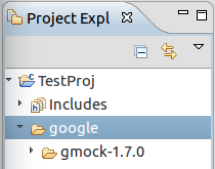 Google Test/Google Mock with Eclipse CDT and Cmake