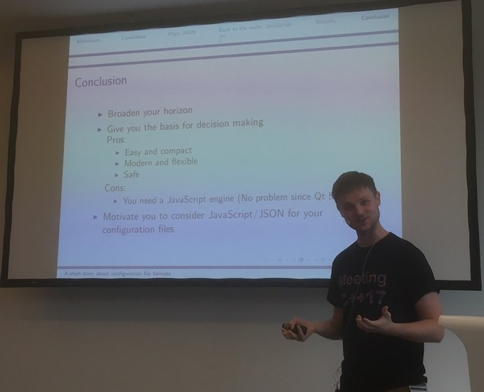 Travel report to Meeting C++ 2017